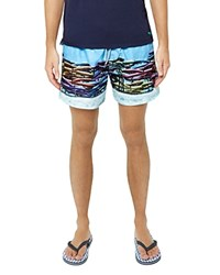 Ted Baker Slydsho Photographic Print Swim Trunks Assorted