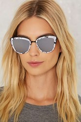 Quay My Girl Cat Eye Shades Marble White