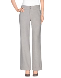 Noa Noa Casual Pants Light Grey