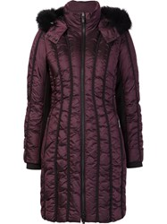 Zac Posen 'Carla' Padded Coat Red