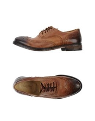 Cavallini Lace Up Shoes Camel