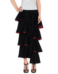 Marni Long Skirts Black