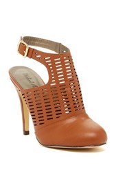 Michael Antonio Laurill Cutout Pump Brown