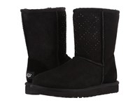 Ugg Classic Short Crystal Diamond Black Women's Cold Weather Boots