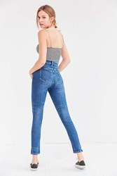 Bdg Twig Deana Super High Rise Skinny Jean Rinsed Denim