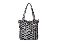 Ju Ju Be Be Light Tote Bag Dandy Lines Tote Handbags Black