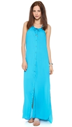 Bop Basics Amy's Casual Cover Up Dress Aqua