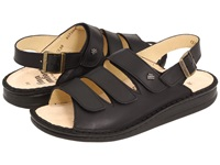 Finn Comfort Sylt 82509 Black Nappa Soft Footbed Women's Shoes