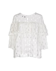 Care Of You Shirts Blouses Women White