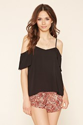 Forever 21 Contemporary Floral Shorts