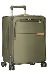 'Baseline' Wide Body Expandable Rolling Packing Case Olive