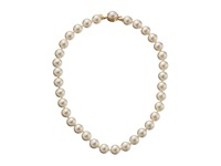 Majorica 1 Row 12Mm Pearl Necklace Gold White Necklace Multi