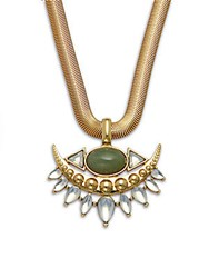 Jules Smith Designs 14K Gold Plated Pendant Necklace