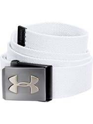 Under Armour Webbing Belt White