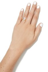 Nasty Gal Felicity Feather Ring Set