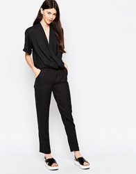 By Zoe By Zoe Low V Neck Jumpsuit Nuit