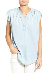 Women's Madewell Chambray Popover Tunic