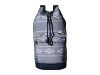 Burton Frontier Backpack Famish Stripe Backpack Bags Blue