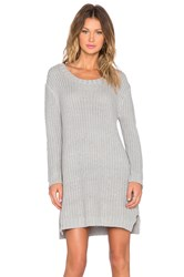 Evil Twin Lunar Rock Sweater Dress Gray
