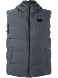 Michael Kors Padded Gilet Grey