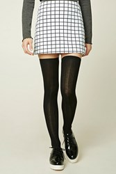 Forever 21 Ribbed Knit Over The Knee Socks