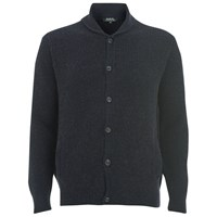 A.P.C. Men's Waves Cardigan Dark Navy
