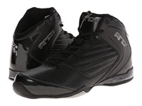 And 1 Master 2 Mid Black Black Silver Men's Basketball Shoes