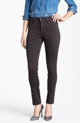 Nydj Women's 'Alina' Colored Stretch Skinny Jeans Titanium