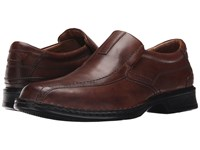 Clarks Escalade Step Brown Leather Men's Slip On Shoes