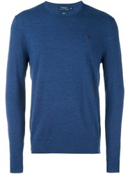 Polo Ralph Lauren Crew Neck Pullover Blue