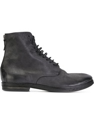 Marsell Marsell Lace Up Ankle Boots Black