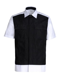 Neil Barrett Short Sleeve Shirt Black