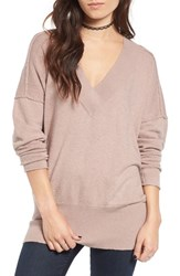 Women's Bp. Dolman Knit Tunic Pink Sphinx