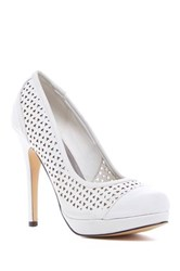 Michael Antonio Lures Stiletto Pump White