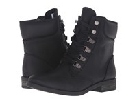 Roxy Fulton Black Women's Lace Up Boots