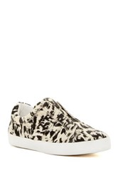 Derek Lam Laurel Genuine Calf Hair Slip On Sneaker White