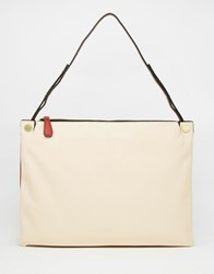 Fiorelli Slim Shoulder Bag Vanilla Red