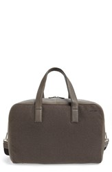 Men's Jack Spade 'Kahn' Wool And Leather Overnight Bag