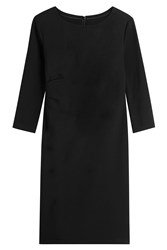 Steffen Schraut Dress With Gathered Side Black