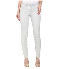 Vince Camuto Classic Five Pocket Skinny Ankle Jeans In Bleached Blue Bleached Blue Women's Jeans