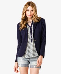 Forever 21 Contemporary Ponte Knit Jacket