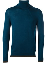 Antonio Marras Turtle Neck Sweater Blue