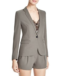 The Kooples Crepe Blazer 100 Bloomingdale's Exclusive Olive Green