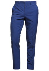 Burton Menswear London Pacific Suit Trousers Blue
