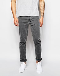 Asos Skinny Jeans With Grey Tint