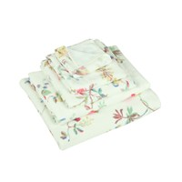 Cath Kidston Birds And Roses Towel Duck Egg Face Cloth