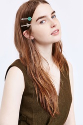 Urban Outfitters Mystical Stone Bobby Hair Pin Set Assorted