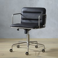 Cb2 Mad Black Office Chair