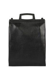Givenchy Rave Shiny Leather Shopping Bag Black