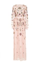 Needle And Thread Petal Pink Woodland Lace Maxi Dress Light Pink